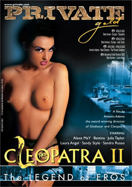 In Cleopatra movies naked