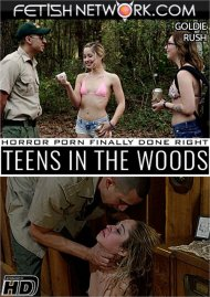 Teens In The Woods: Goldie Rush Porn Video