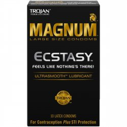 Trojan Magnum Ecstasy - 10 Pack Sex Toy