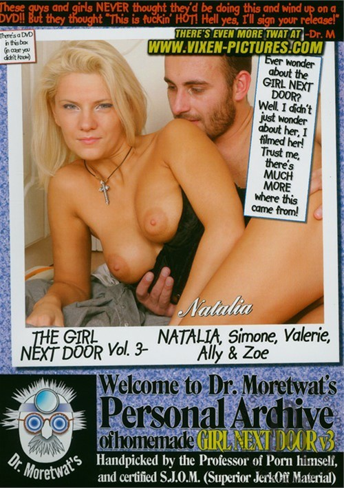 Next porn blonde door