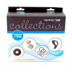 Perfect Fit: Collections Premium C-Ring Kit Sex Toy