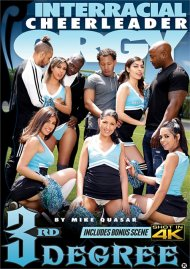 Interracial Cheerleader Orgy DVD porn movie from Third Degree Films.