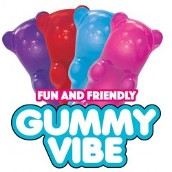 Rock Candy - Gummy Vibe Mini Vibrator - Color Chosen At Random  Sex Toy
