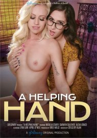 A Helping Hand DVD porn movie from Girlsway.