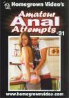 Amateur Anal Attempts 31 Boxcover