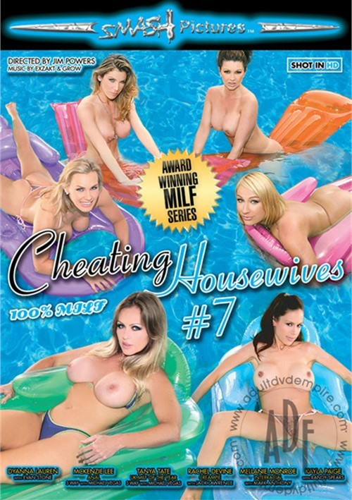Cheating Housewives #7 DVD porn movie.