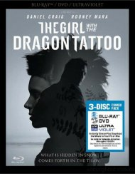 Girl With The Dragon Tattoo, The (Blu-ray + DVD + UltraViolet) Blu-ray Movie
