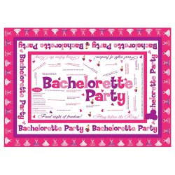 Bachelorette Party Trivia Tablecloth Sex Toy