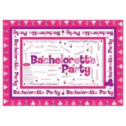 Bachelorette Party Trivia Tablecloth Sex Toy