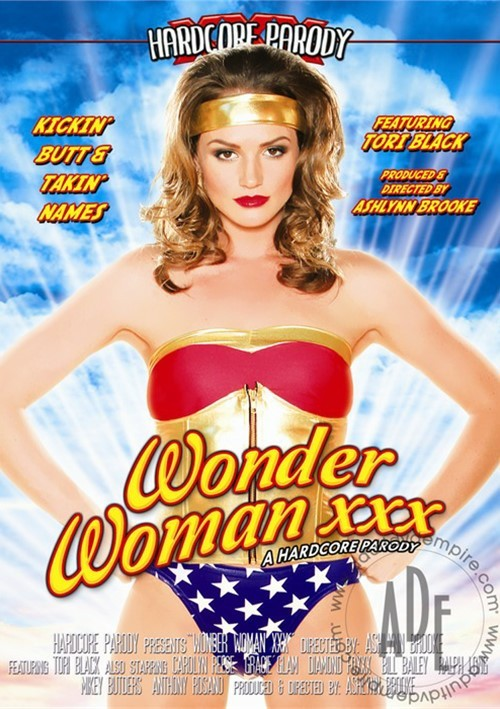 wonder woman xxx dvd