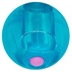 Rock Candy - Gummy Ball 5-function Mini Finger Vibe - Blueberry Blue Sex Toy