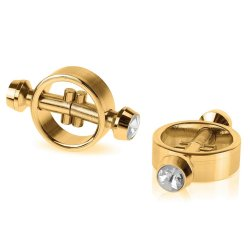 Fetish Fantasy Magnetic Nipple Clamps - Gold Sex Toy