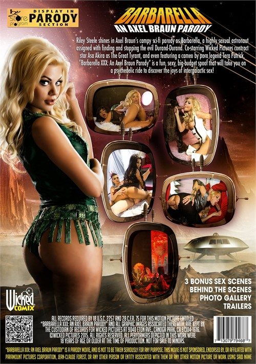 Barbarella Xxx An Axel Braun Parody 2015  Adult Dvd Empire-3840