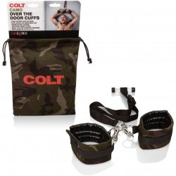 Colt Adjustable Over The Door Cuffs - Camo Sex Toy