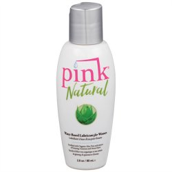 Pink Natural Water Based Lubricant For Women - 2.8oz Sex Toy