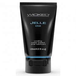 Wicked Cooling Anal Jelle - Chill - 4 oz. Sex Toy