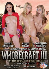 Whorecraft III: Tiny Teen Elfs Take On Huge Swords HD porn video from Whorecraft HD .