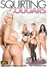 Squirting Cougars porn DVD from Jules Diabolic