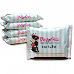 Puss and Pits Wipes - 15pack Sex Toy