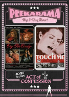 Peekarama: Cry For Cindy / Touch Me / Act Of Confession (Triple Feature) Movie