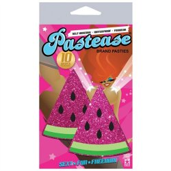 Pastease Hot Pink Glittering Watermelons Sex Toy