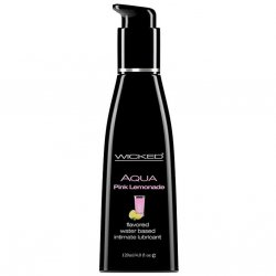 Wicked Aqua Pink Lemonade lubricant from Wicked Sensual Care.