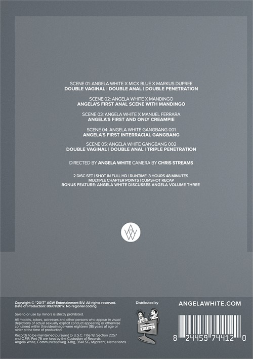 Back cover of Angela 3