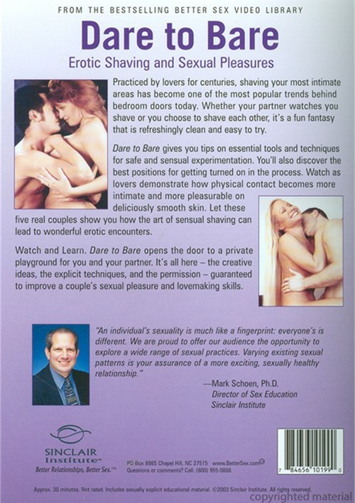 Better sex improvement dvd for couples