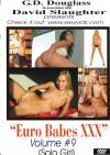 Euro Babes XXX Volume #9 Boxcover