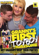 Granny's First Toyboy Threesome Porn Video