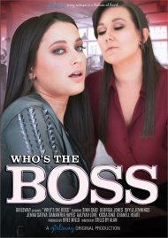 Who's The Boss HD porn movie from Girlsway.