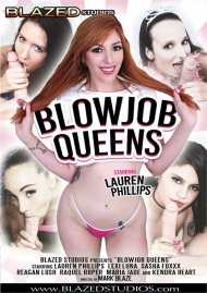 Blowjob Queens porn DVD from Blazed Studios.