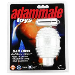 Ball Bliss Ball Sack Vibrator - Clear Sex Toy