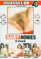 Hairy Honies 4-Pack Porn Movie