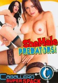 Shemale Predators 5-Pack Porn Movie