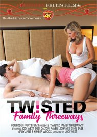 Twisted Family Threeways DVD porn movie from Forbidden Fruits Films.