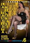 Italian Amateur 6 - La Taxista Milanese Scopa Tutto Il Mese Boxcover