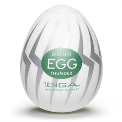 Tenga Easy Beat Egg - Thunder Sex Toy