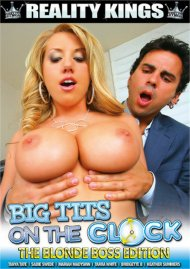Big Tits On The Clock: The Blonde Boss Edition Porn Video