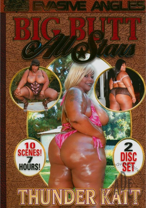 black porn star thunder katt - Big Butt All Stars: Thunder Katt