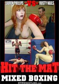 Lauren Phillips VS Rusty Nails Mixed Boxing Porn Video
