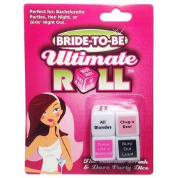 Bride To Be Ultimate Roll Dice Game Sex Toy