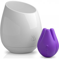 JimmyJane: Pure UV Sanitizing Mood Light with Tre Love Pod Vibe - Purple sex toy from JimmyJane.