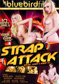 Strap Attack HD porn video from Bluebird Films.