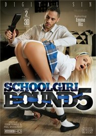 Schoolgirl Bound 5 porn DVD from Digital Sin.