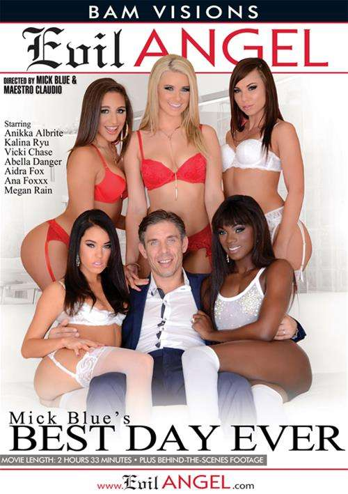 Mick Blues Best Day Ever 2015  Adult Dvd Empire-5897
