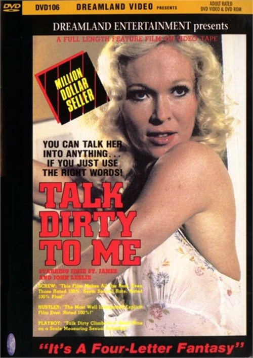 Talk Dirty To Me 1980 Adult Dvd Empire-3405