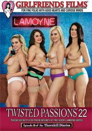 Twisted Passions Part 22 DVD porn movie from Girlfriends Films.