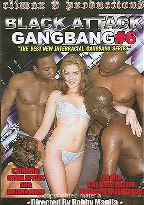 Full interracial gangbang video