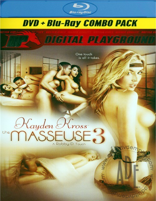 Masseuse 3, The (DVD + Blu-ray Combo)